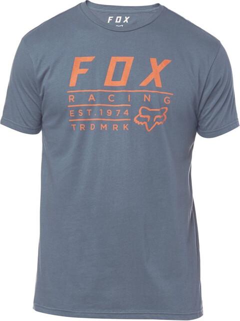 Fox Trdmrk Premium T-Skjorte Herre Blå